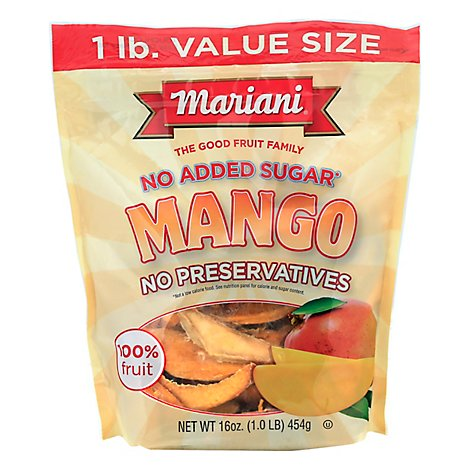 Mariani Dried Mango - 16 Oz