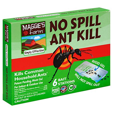 No Spill Ant Kill - 6 Count