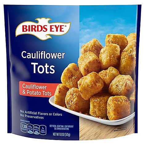 Birds Eye Veggie Made Tots Cauliflower & Potato Tots - 12 Oz