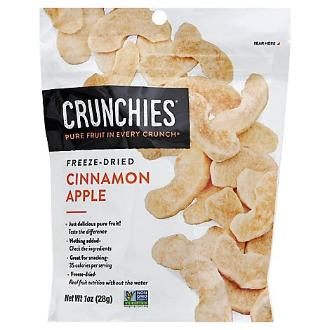 Crunchies Freeze Dried Cinnamon Apple - 1 Oz
