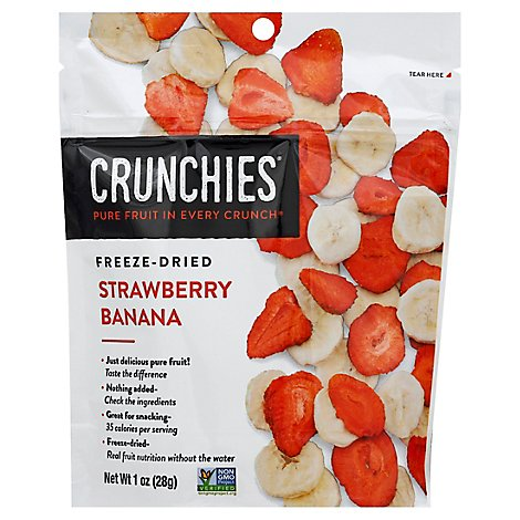 Crunchies Freeze Dried Strawberry Banana - 1 Oz