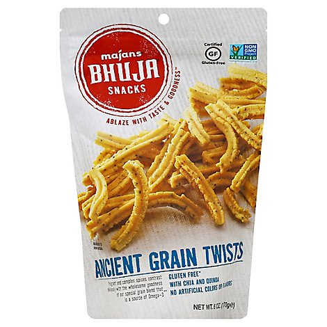Bhuja Snack Grain Twist - 6 Oz