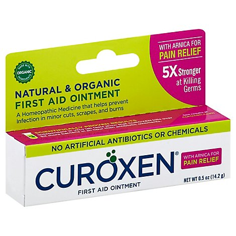 Curoxen Orgnc First Aid Ointment With Arnica - .5 Oz