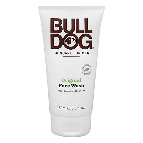 Bulldog Mens Original Face Wash - 5 Fl. Oz.