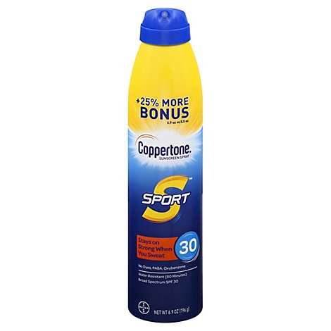 Ct Sport Spray Spf30 5.5oz Plus 25% 12s - Each