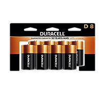 Duracell Alkaline Personal Power D - 8 Count