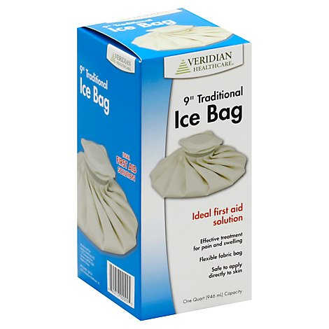 Veridian Traditional Ice Bag 9in - Each
