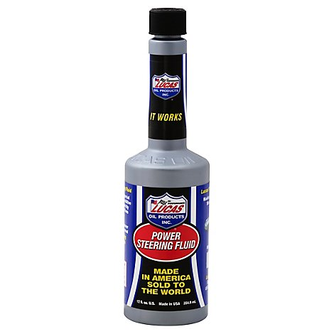 Lucas Power Steering Fluid - 12 Fl. Oz.