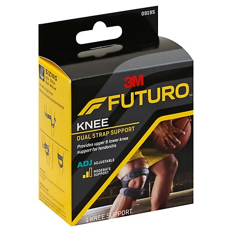 Futuro Dual Strap Knee Support Adjstble - Each