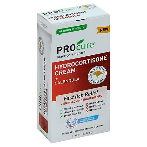 Procure Hydrocortisone Cream W Calendula - 1 Oz
