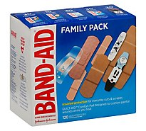 Bandaid Brand Box-In-Box 5box Pack 120ct - 120 Count
