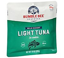 Bumble Bee Light Tuna In Water Pouch - 10 Oz