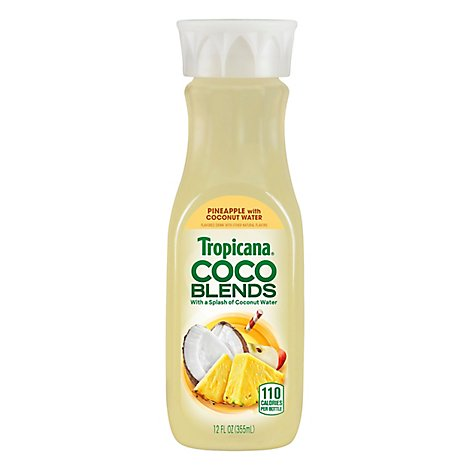Tropicana COCO Blends Pineapple with Coconut Water Chilled - 12 Fl. Oz.
