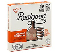 Real Good Food Co. Pizza Uncured Pepperoni Frozen - 8.7 Oz