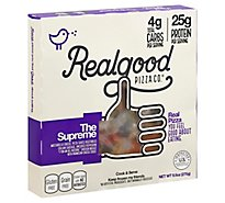 The Real Good Food Co Pizza Supreme Frozen - 9.5 Oz