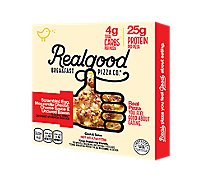 The Real Good Food Co Pizza Bacon Breakfast Frozen - 9.4 Oz