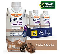 Ensure Max Protein Nutrition Shake Ready To Drink Cafe Mocha - 4-11 Fl. Oz.