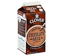 Clover Sonoma Chocolate Milk - 0.5 Gallon