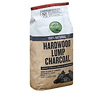 Open Nature Charcoal Hardwood Lump - 8 Lb