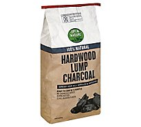 Open Nature Charcoal Hardwood Lump - 20 Lb