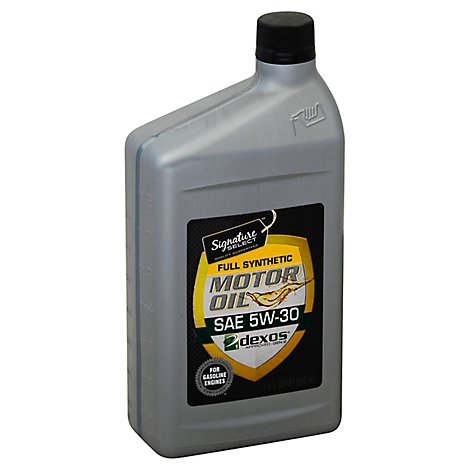 Signature SELECT Motor Oil Full Synthetic SAE 5W-30 - 1 Quart