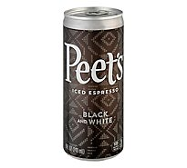 Peet S Iced Espresso Black & White - 8 Fl. Oz.