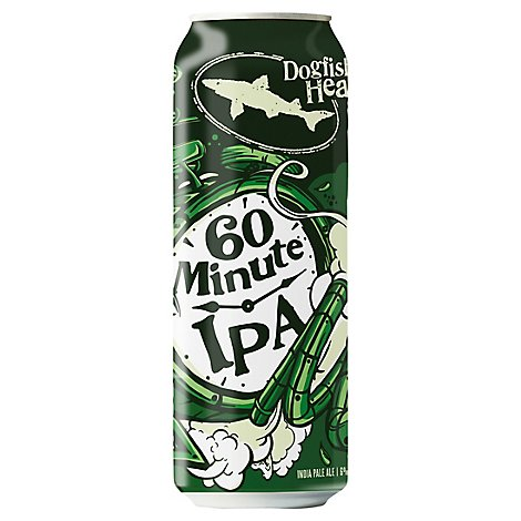 Dogfish Head 60 Minute Ipa 12x19.2oz In Cans - 19.2 Oz