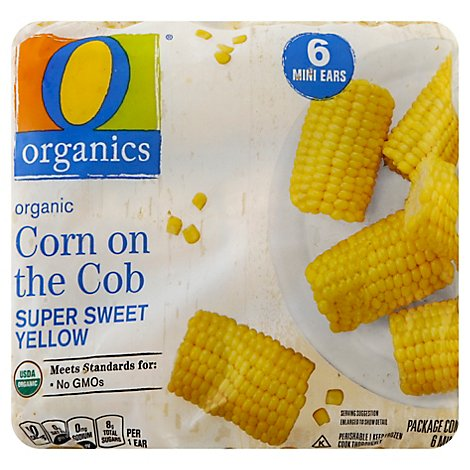 O Organics Organic Mini Corn On The Cob - 6 Count