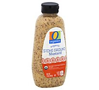 O Organics Organic Mustard Stone Ground Bottle - 12 Oz