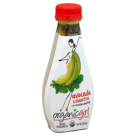 Organic Girl Dressing Avocado Cilantro - 8 Fl. Oz.