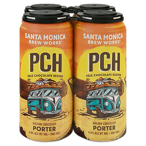 Santa Monica Pch Porter In Cans - 6-12 Fl. Oz.