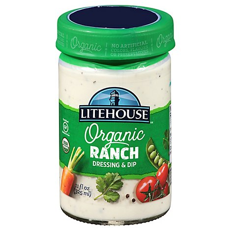 Litehouse Organic Dressing & Dip Ranch - 11 Fl. Oz.