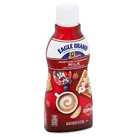 Eagle Brand Milk Condensed Sweetened Bottle - 14 Oz