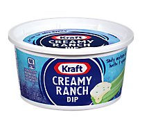 Kraft Dip Creamy Ranch Tub - 12 Oz