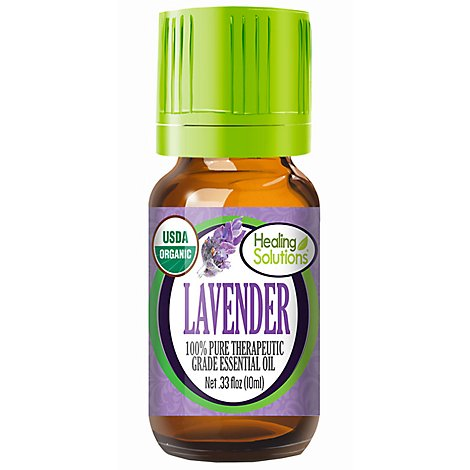Healing Solutions Lavender Essential Oil - 0.33 Fl. Oz.