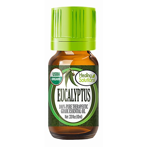 Healing Solutions Eucalyptus Essential Oil - .33 Fl. Oz.