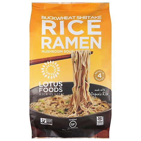 Lotus Foo Ramen Bkwht Mshrm Brwnrce - 2.8 Oz