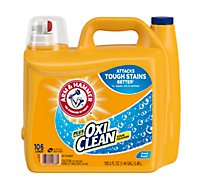 Arm & Hammer Laundry Detergent Oxiclean Display Sp Liquid - 185.5 Fl. Oz.