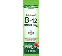 Nt Vit B12 10000mcg Sublingual Liquid - 2.0  Fl. Oz.