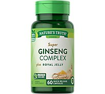 Nat Truth Spr Ginseng Complx - 60 Count