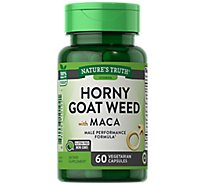 Nt Horny Goat Weed W Maca Caps - 60 Count