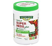 Nt Daily Super Reds Powder W Greens - 7.10 Oz