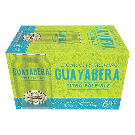 Cigar City Brewing Beer Citra Pale Ale Guayabera Can - 6-12 Fl. Oz.