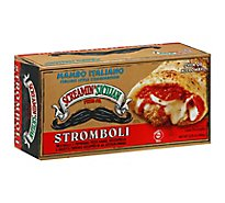 Screamin Sicilian Pizza Strombolo Mambo Italiano Meatballs & Pepperoni Box Frozen - 9.25 Oz
