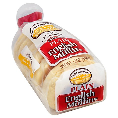 Plain English Muffins - 6 Count