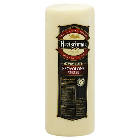 Kretschmar Cheese Provolone Pre Sliced - 0.50 LB
