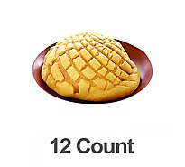 Mini Sweet Bread Conchas 12 Count