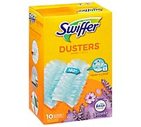 Swiffer Dusters Multi Surface Refills With Febreze Lavender Scent - 10 Count