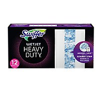 Swiffer WetJet Mopping Pads Refill Heavy Duty - 12 Count