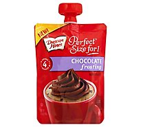 Duncan Hines Perfect Size For 1 Frosting Chocolate Pouch - 3.7 Oz